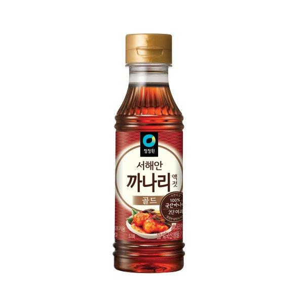 [청정원] 서해안까나리액젓 250g