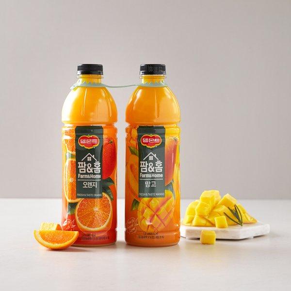 팜앤홈 오렌지+망고 1.2