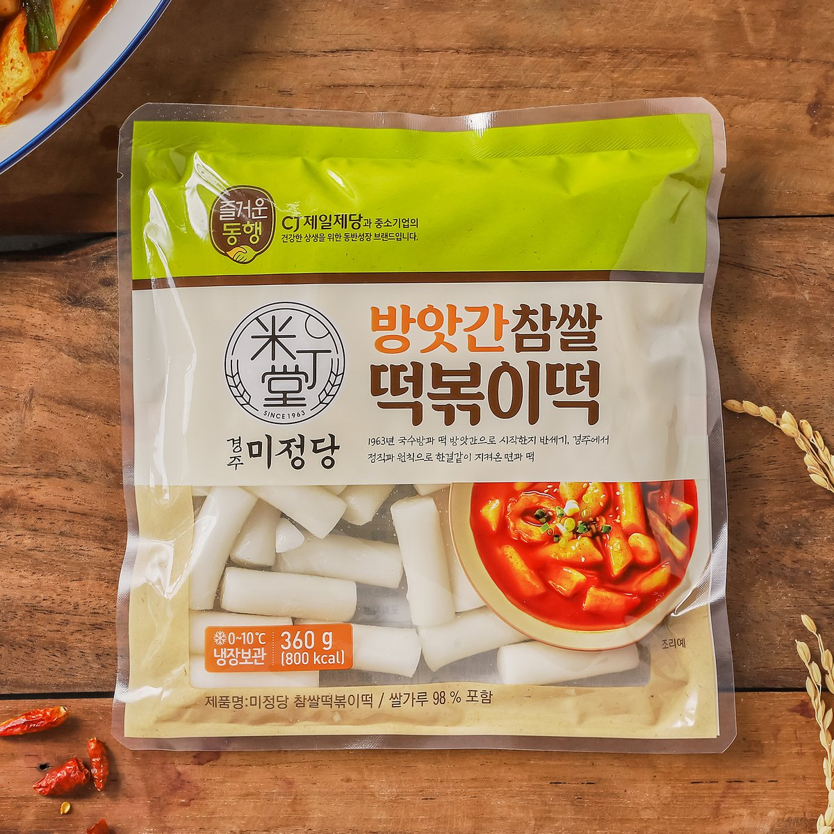 [CJ]미정당 방앗간 쌀 떡볶이떡 360G