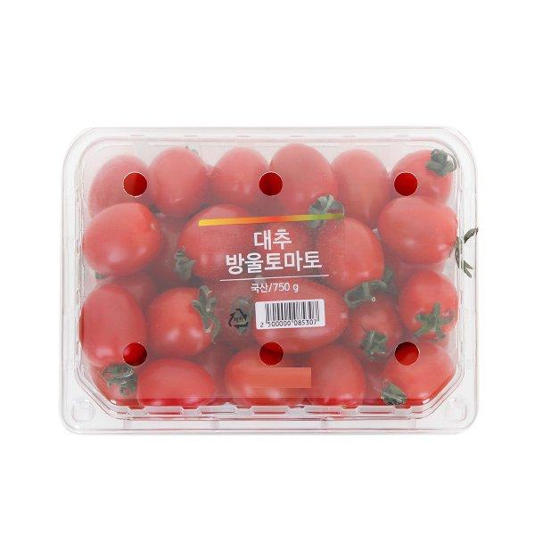 [국내산] 대추방울토마토 750g/팩