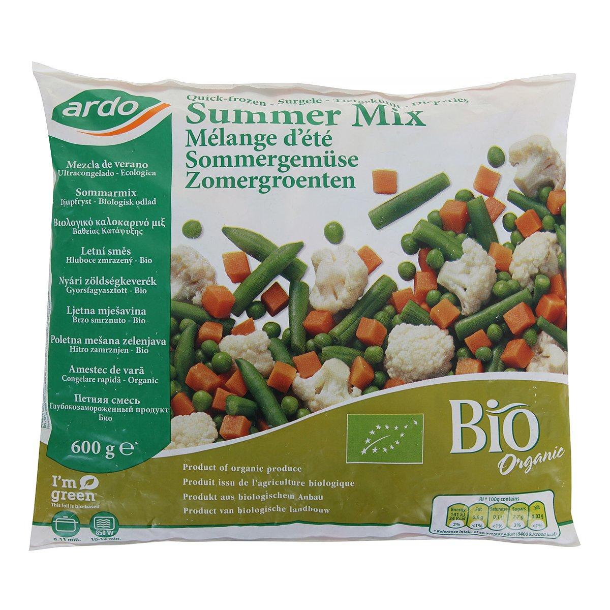냉동 유기농채소믹스 600g