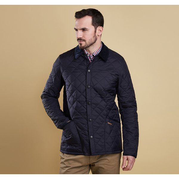 Barbour 바버 헤리티지 리데스데일 네이비 (HERITAGE LIDDESDALE QUILTED JACKET NAVY)