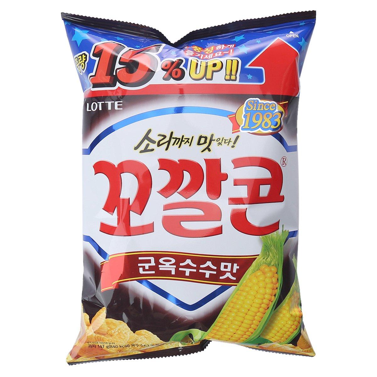 [롯데] 꼬깔콘 군옥수수맛 147g
