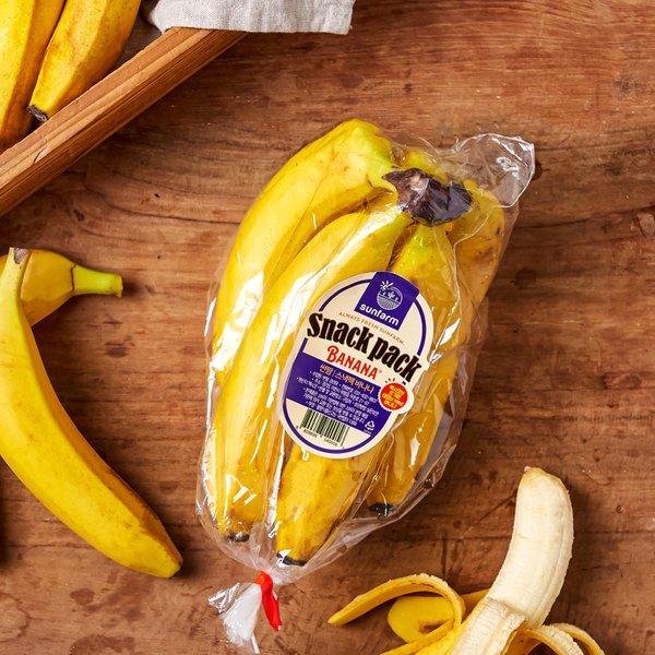멕시코산 썬팜 스낵팩 바나나 700g내외 (봉)