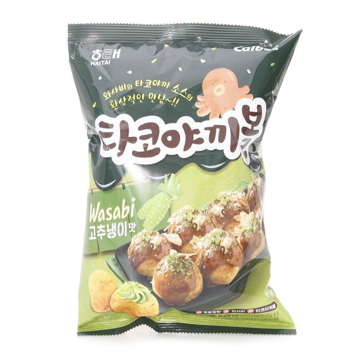 해태 타코야끼볼고추냉이맛140g