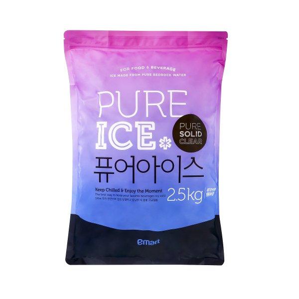[피코크] 퓨어 아이스 각얼음 2.5kg