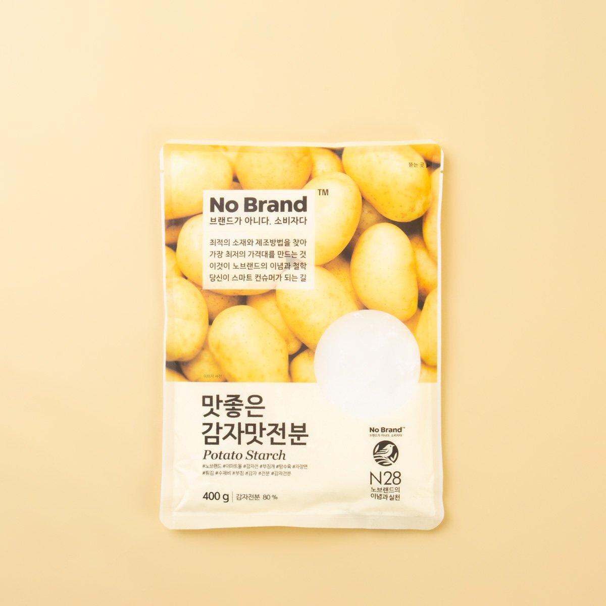 [노브랜드] 맛 좋은 감자 맛 전분 400g