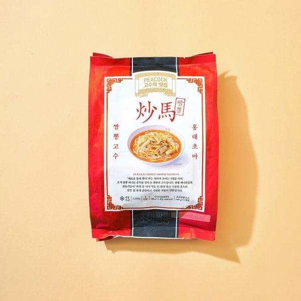 [피코크]고수의 맛집 초마짬뽕1,240g
