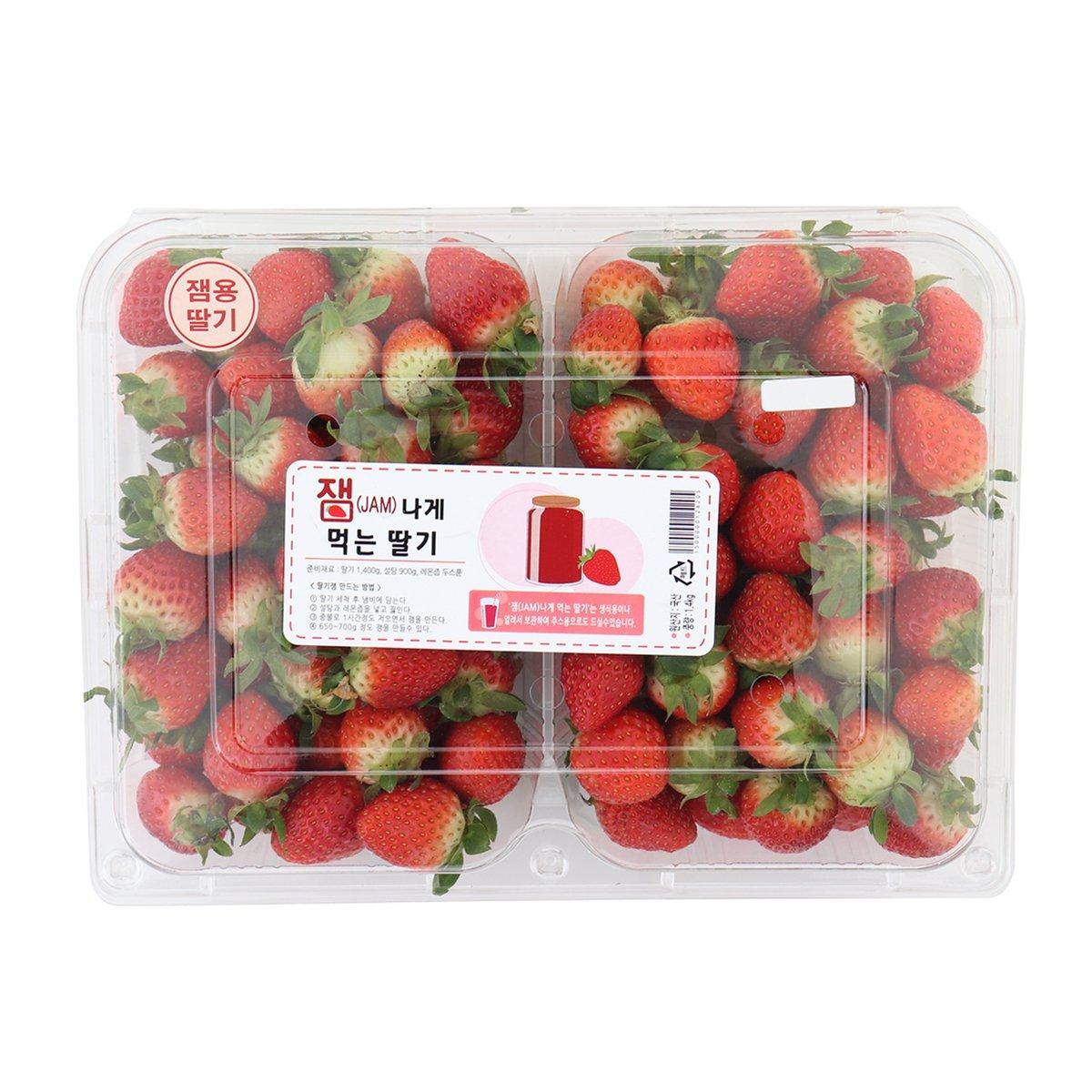 [국내산] 딸기 1.2kg/팩