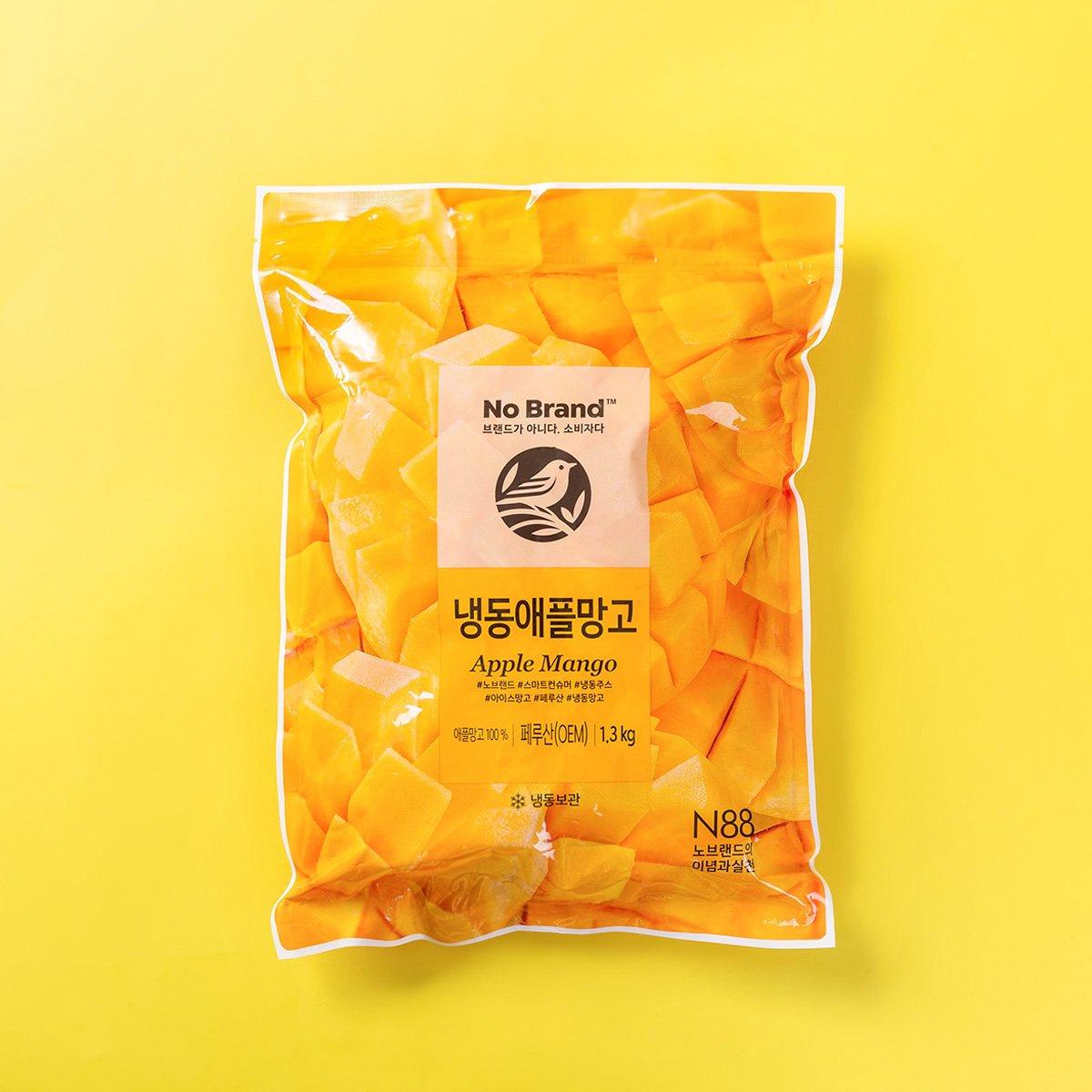 [노브랜드] 냉동 애플망고 1.3kg