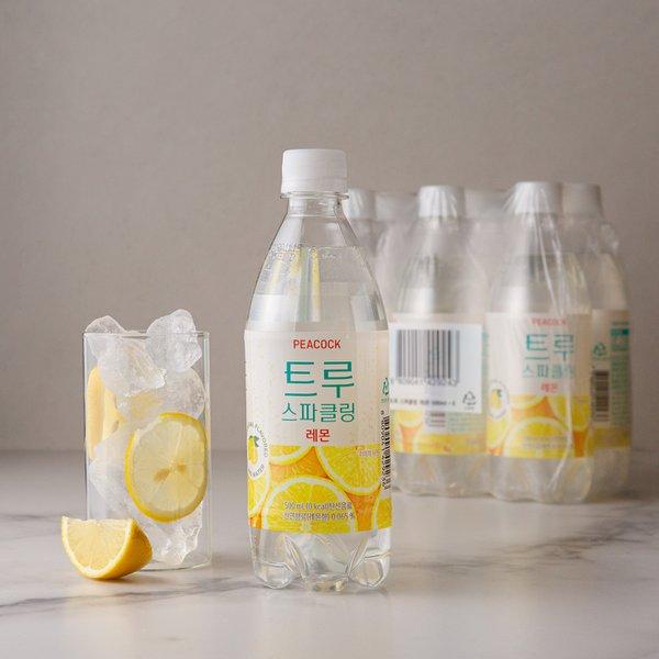 [피코크] 트루 스파클링 레몬(500ml×6입)