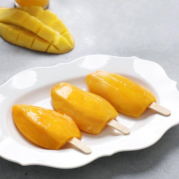 [후레쉬망고] 천연간식 달콤한 아이스망고바 20개