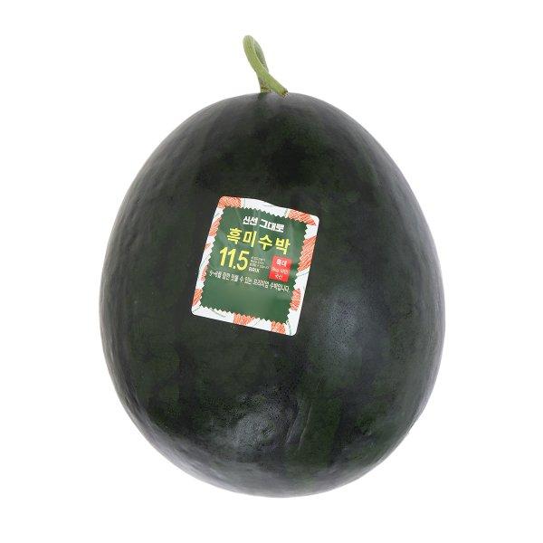 [국내산] 흑미수박 9kg미만