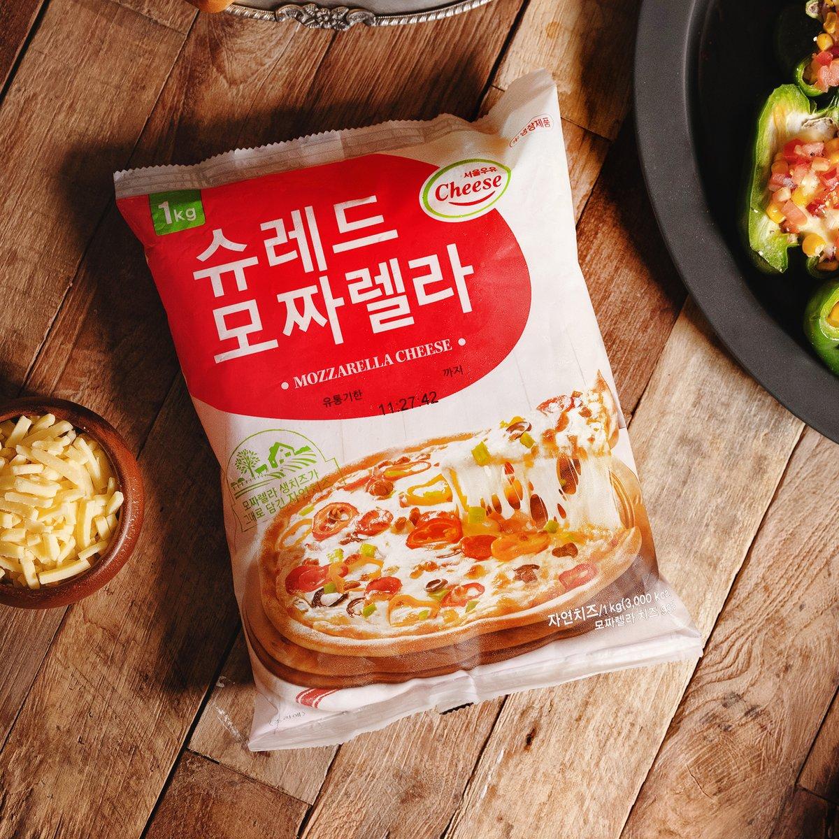 [서울우유]슈레드모짜렐라치즈1kg