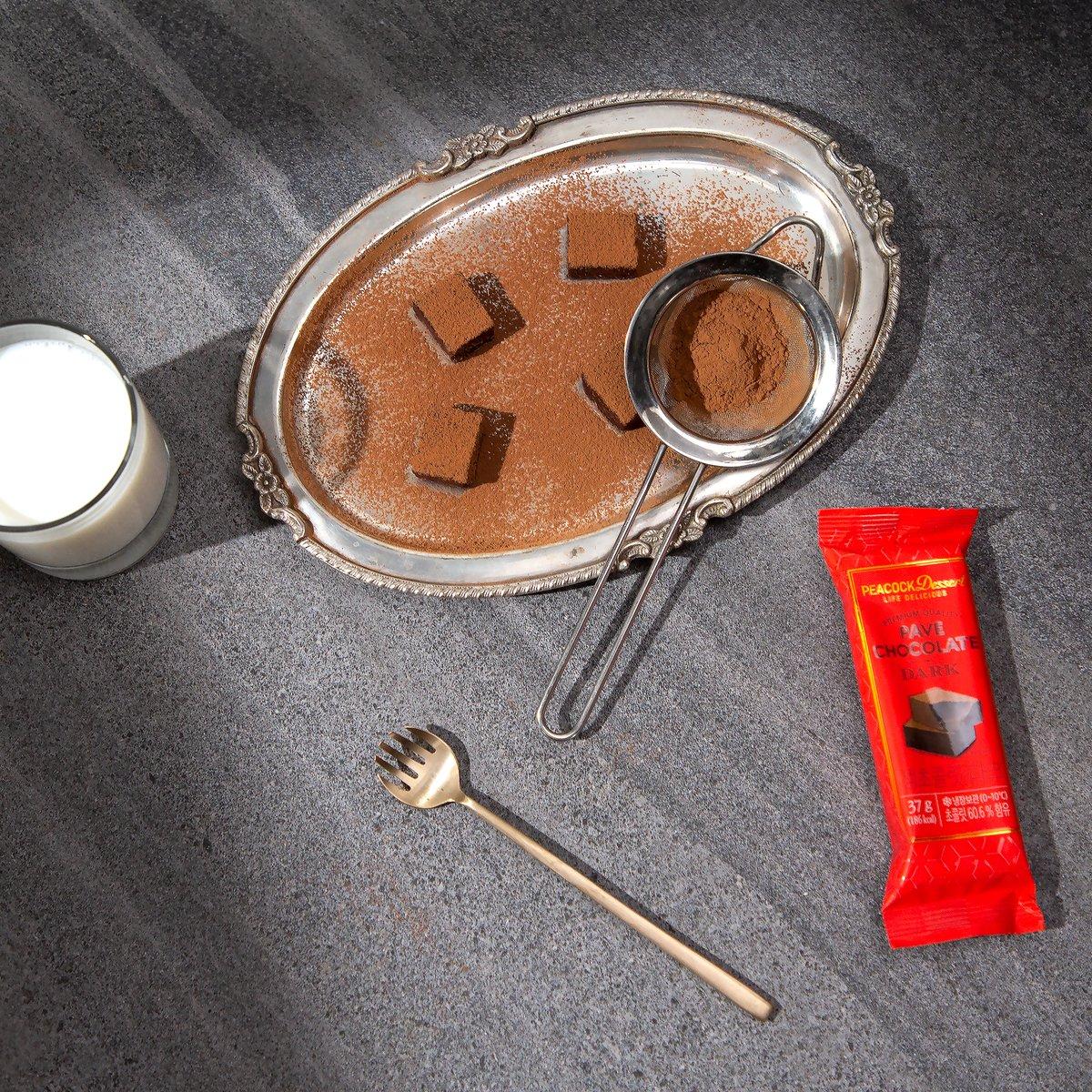 피코크 생초콜릿 다크 37g
