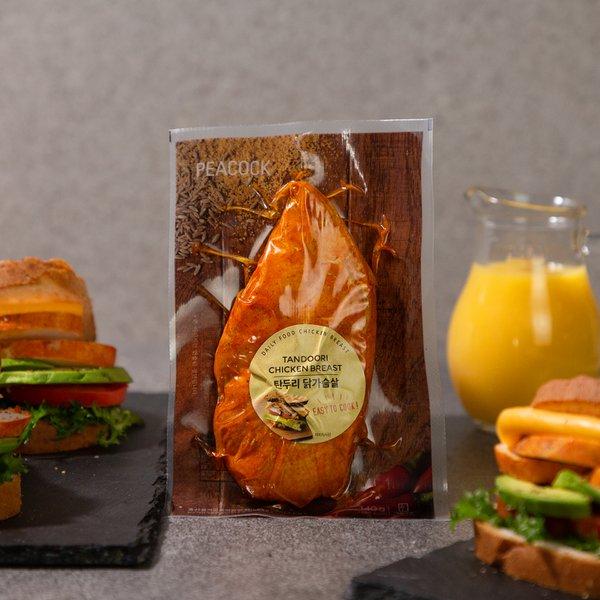 [피코크] 탄두리 닭 가슴살 140g