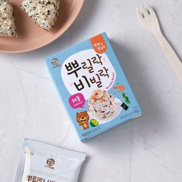 뿌릴락비빌락 해물 (10개월이상) 20g (5g*4입)