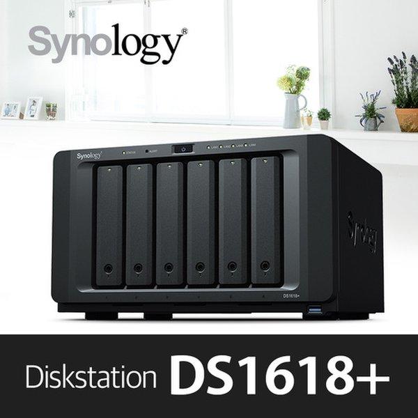 에이블스토어 Synology DS1618+ NAS[케이스] 6Bay