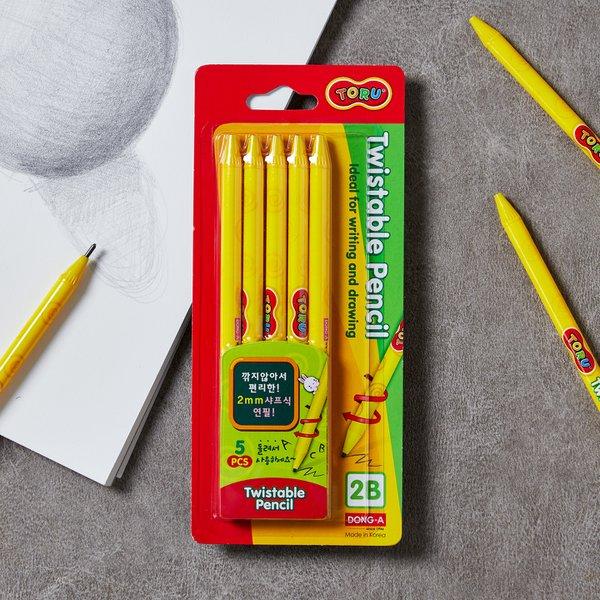 [동아]2mm 색연필 흑연심2B