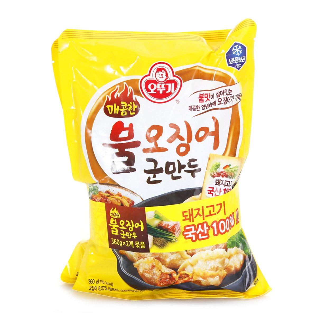 오뚜기 매콤한 불오징어 군만두 360G*2
