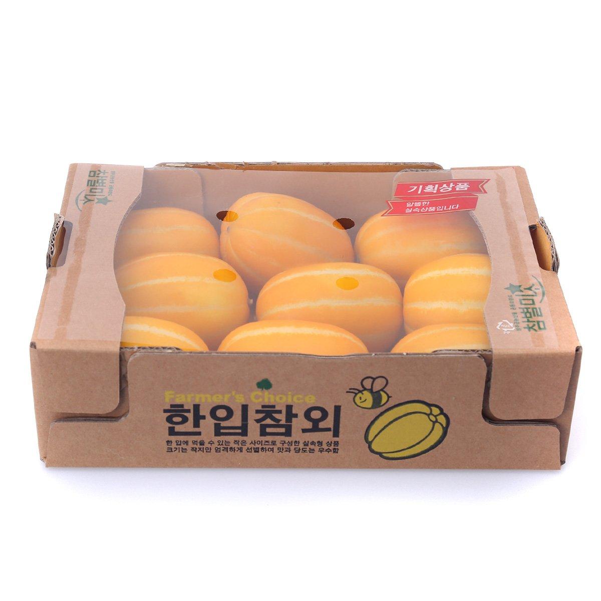 [국내산] 한입참외 1.5kg/박스