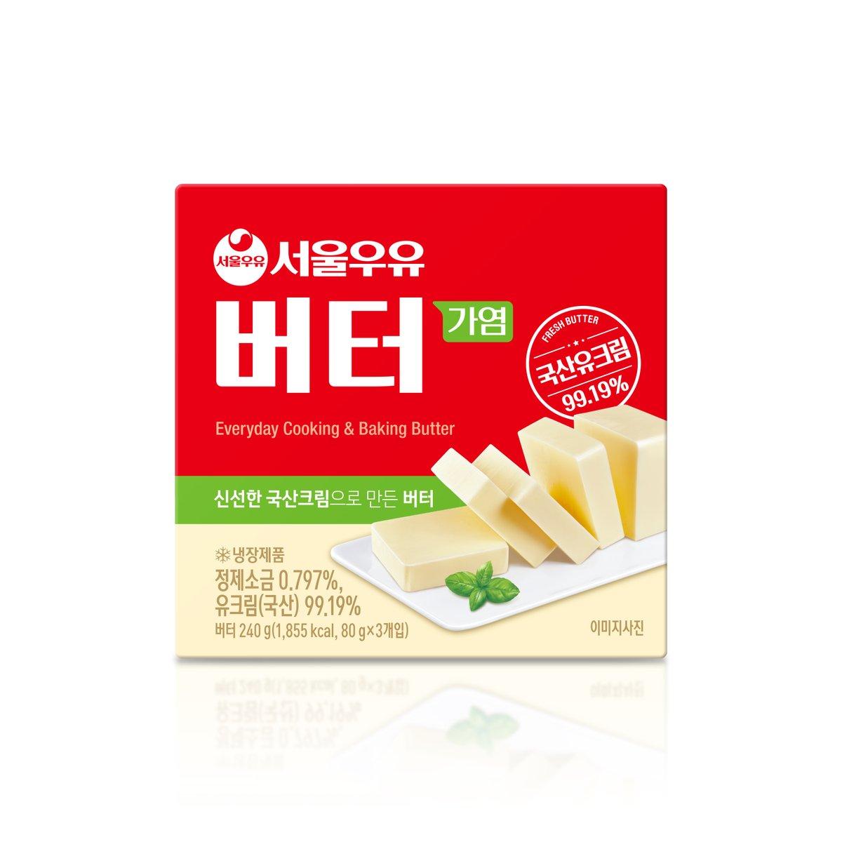 [서울우유] 프레시 버터 80g*3입