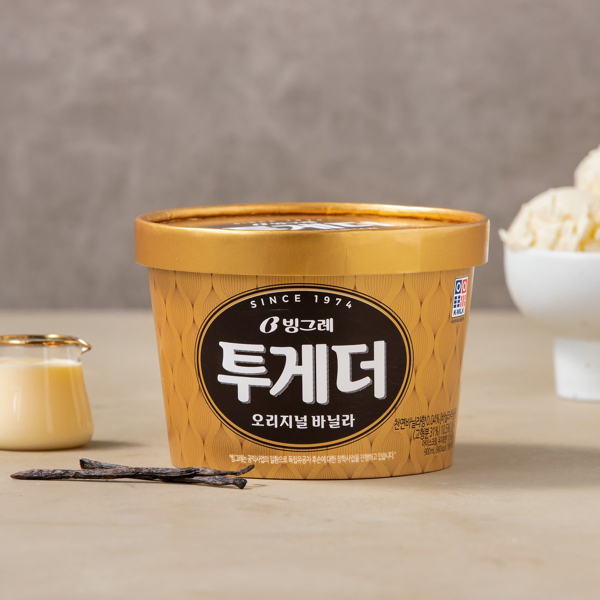 [빙그레] 투게더  아이스크림 900ml